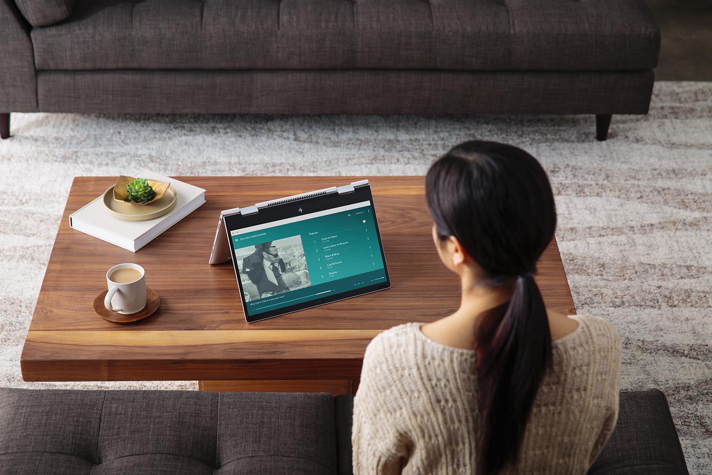 HP har lansert en rekke nye maskiner i Cannes. Her HP Envy x360.