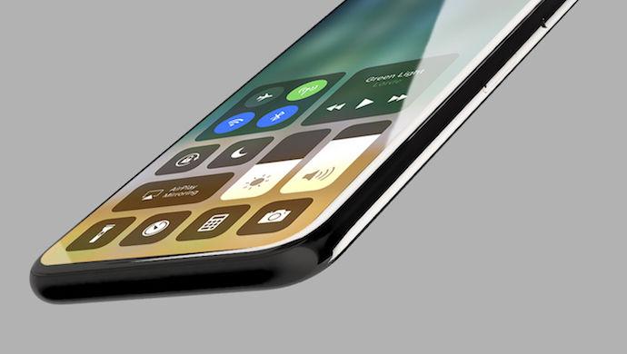 Ifølge nettsiden og andre kilder, får iPhone X/8, trådløs lading, vertikalt plassert to-kamera-system, kan logge deg inn med ansikt og øyne og Touch ID under panelet.