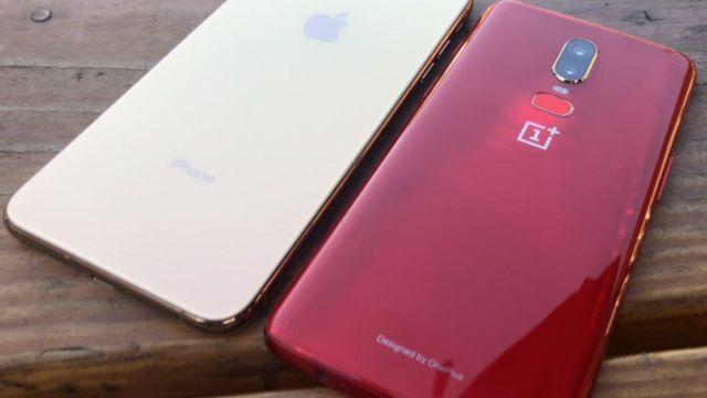 iPhone Xs Max og OnePlus 6 er to lekre mobiler, ingen tvil om det.