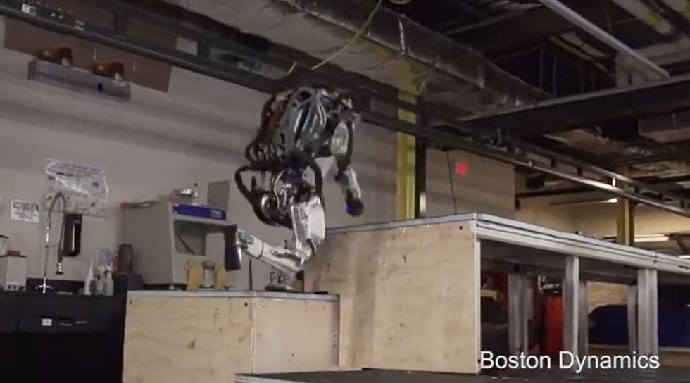 Se hva den utrolige roboten kan gjøre nå.