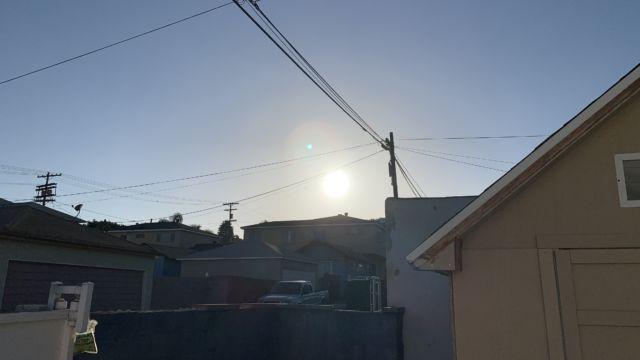Jeg siktet rett på sola.
