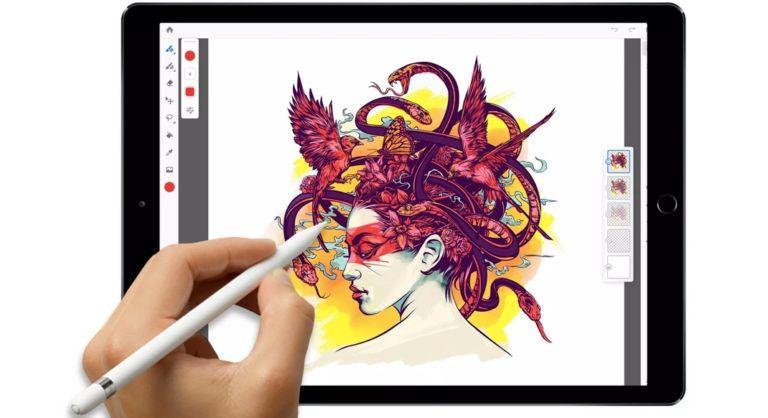 Photoshop CC for iPad kommer i 2019 med synkronisering