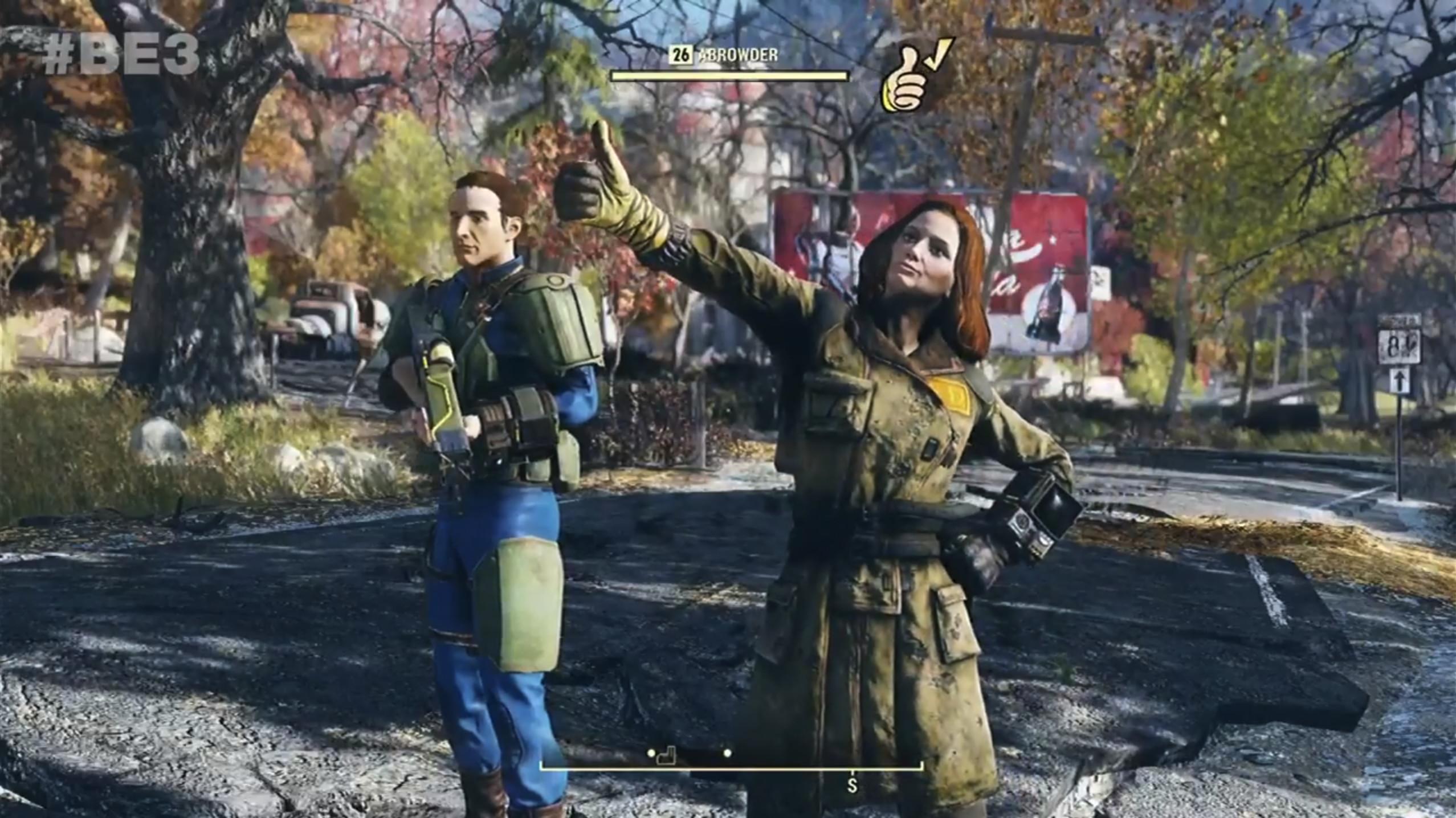 Se oss spille Fallout 76