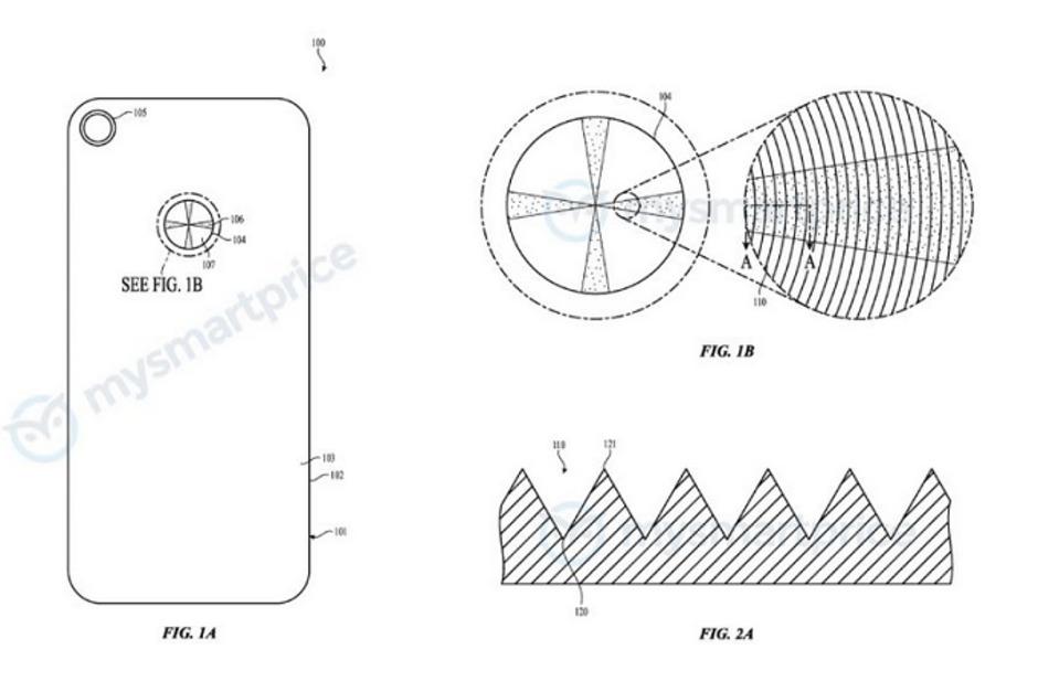 Dette bildet illustrerer en teknikk som kan gjøre baksiden på iPhone ganske annerledes enn den er i dag.