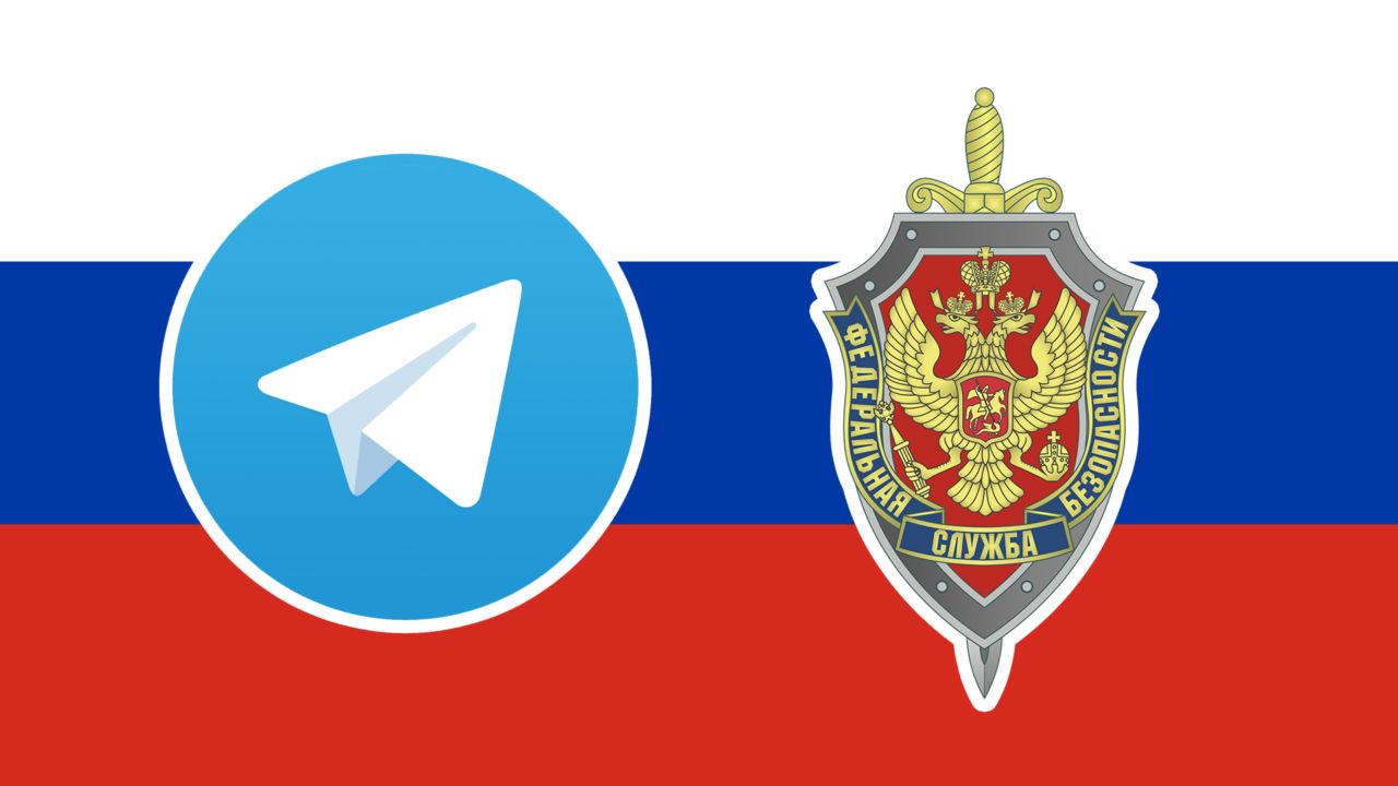 Telegram må betale bot i Russland