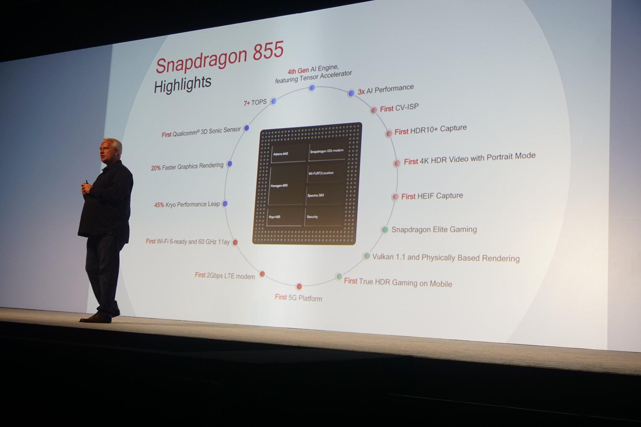 Snapdragon 855 høres utrolig ut - OnePlus får den først