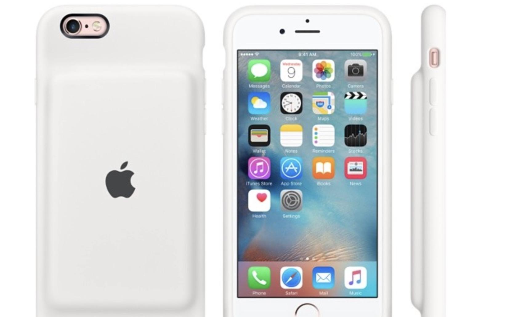 Dette er det nåværende batteridekselet som Apple selger. Nå kommer oppfølgeren.