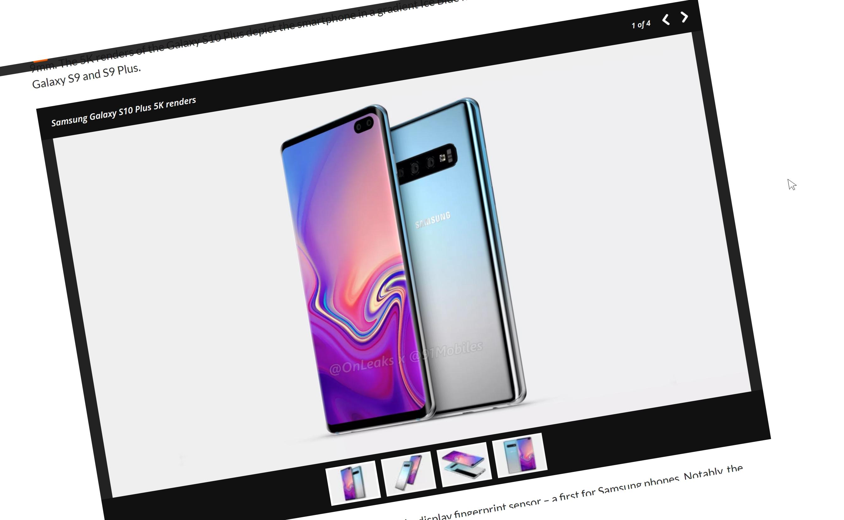 Se Galaxy S10 Plus - dette må du vite om flaggskipet med lyd-fingersensor i panelet