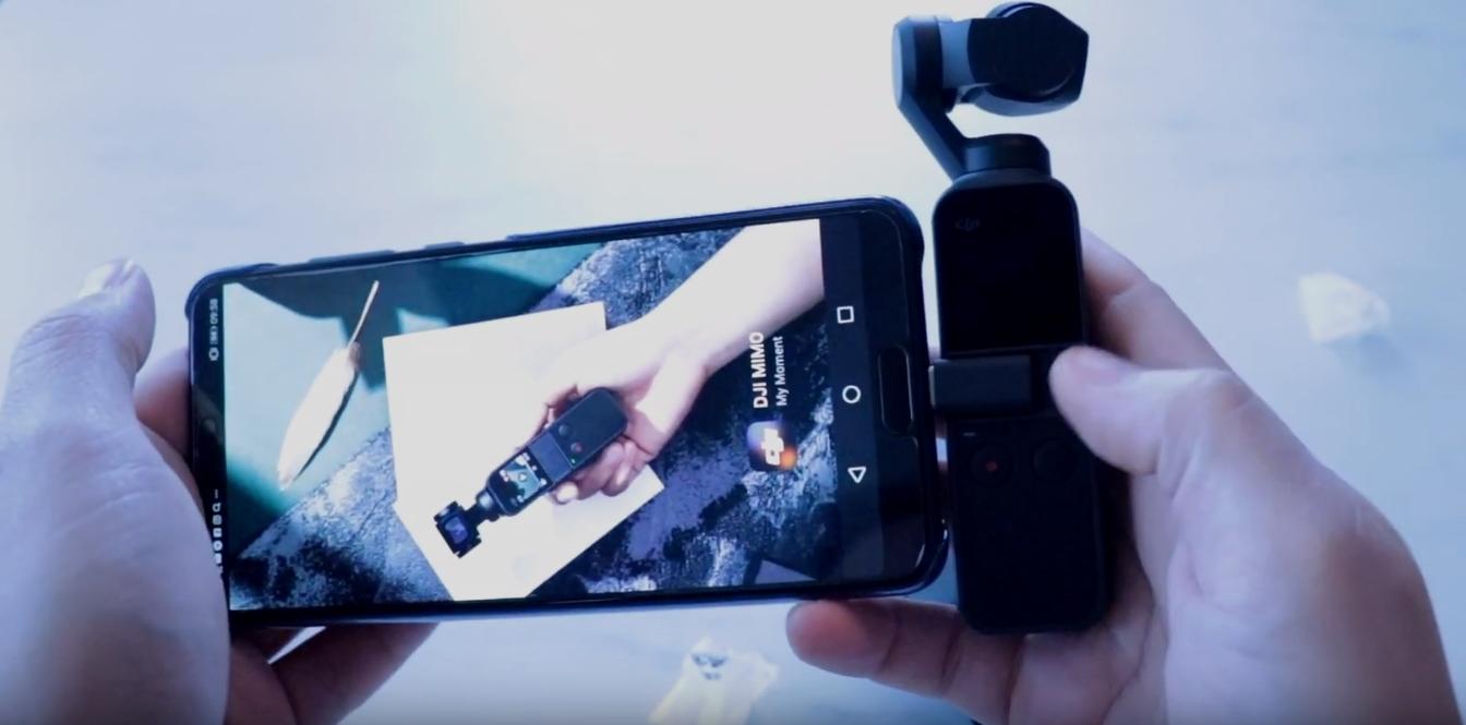 Se vår video-test av kameraet alle snakker om: Dji Osmo Pocket
