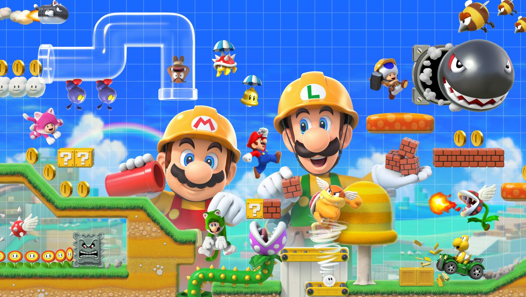Test: Super Mario Maker 2
