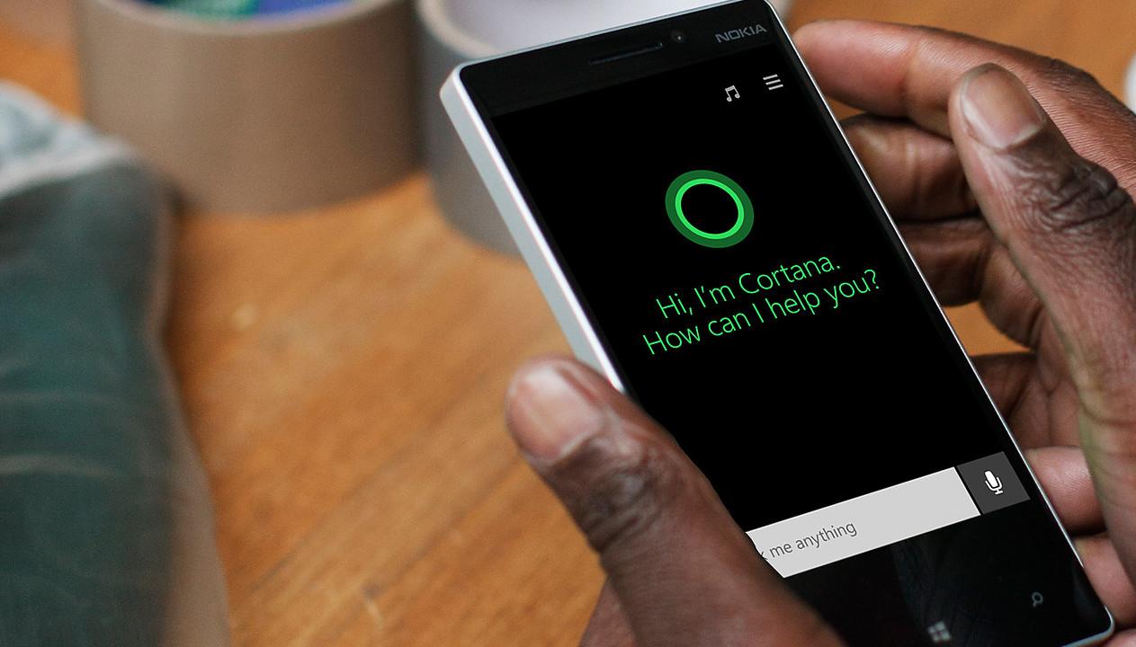 Cortana mobil