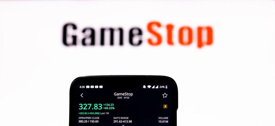 gamestop aksjehandel