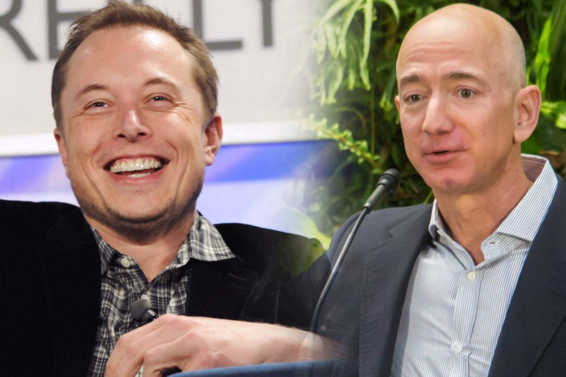 Trakk Bezos seg fra Amazon for å få tid til å plage Musk?