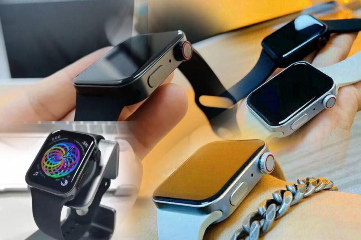 Klonenes design samsvarer med det designet som som er forventet for Apple Watch Series 7.