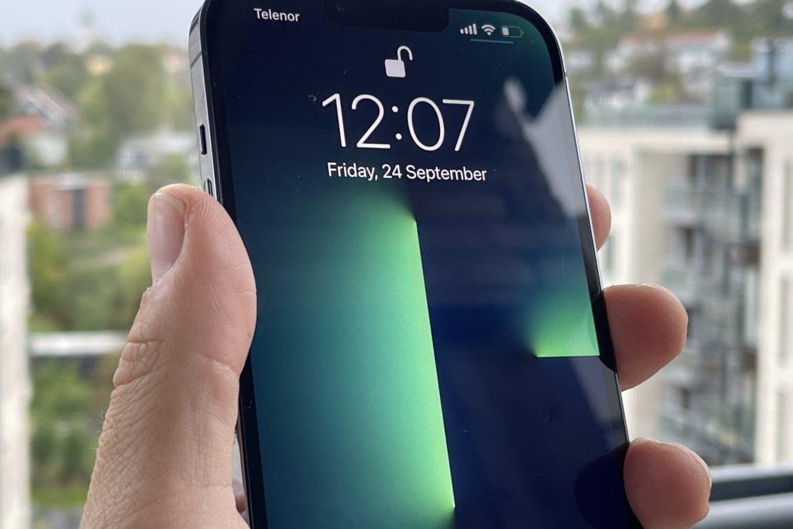 iphone13berøing