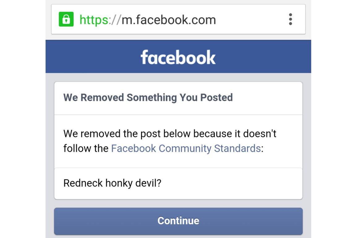 Facebooks standarder