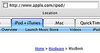 Apple-nettside MacBook