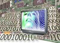 Digital-TV illustrasjon