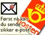 Posten og sikker e-post