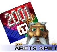 Årets spill 2001