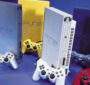 PS2-konsoller farger