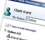 MSN Web MEssenger