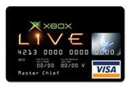 Xbox Visa Card (tysk)