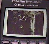 TI-84 spiller The Matrix