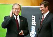 George Bush mobil