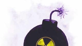 ATOM-FARE: Amerikanerne ble presset til å stenge sitt nettsted om Saddams atom-planer.
