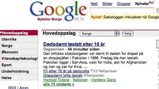 OMSTRIDT:  Heller ikke i Norge har Google News vært ukontroversielt.