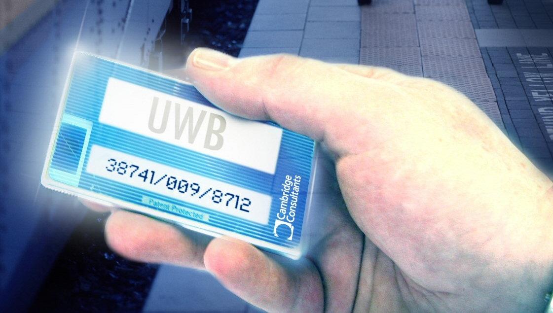 SUPERBREDT: Med UWB kan du overføre data trådløst med 1 Gbps.