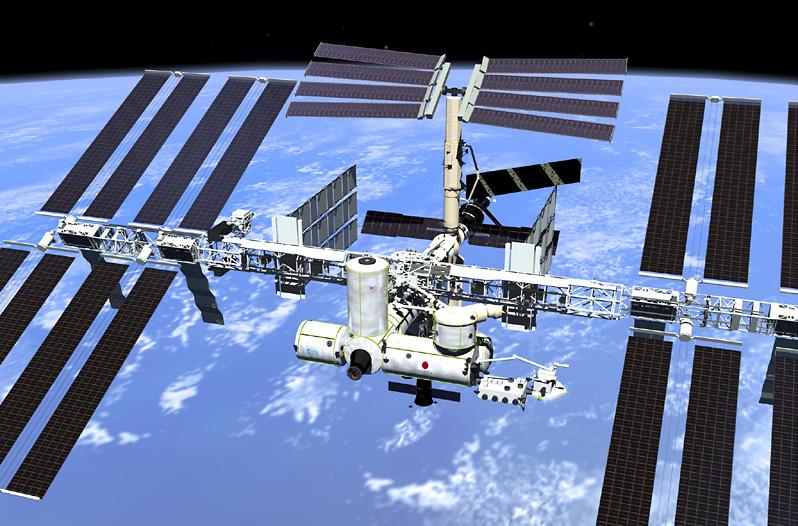 ROMSTASJONEN ISS: Snart kan du følge bevegelsene til ISS i sanntid.