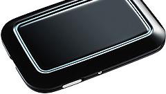 LITEN: Den nye harddisken til Seagate er på størrelse med et kredittkort.
