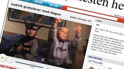 Nettvideo: Slik skal VGs nye tjeneste se ut (ill: www.vg.no)