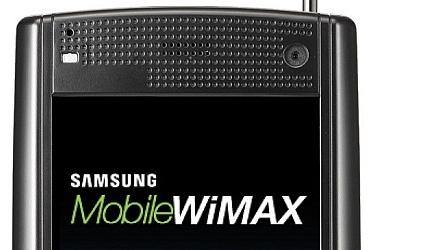 Første PDA med WiMAX: Samsung M8100