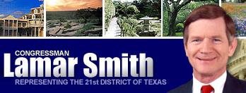 LAGRE FOR ALLTID: Lamar Smith vil gi nettaktiviteten din evig liv.