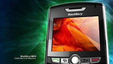 Ny Blackberry med innebygd GPS og WiFi.