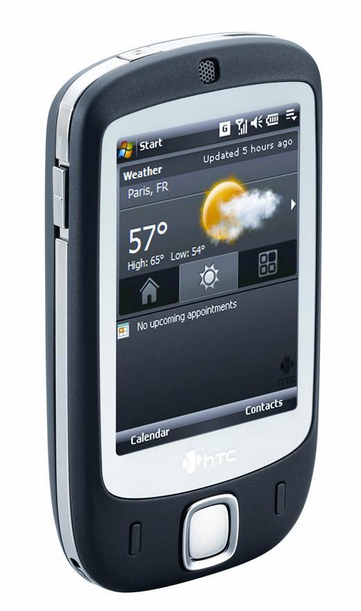 HTCs nye smarttelefon har berøringsfølsomskjerm med egen teknologi fra HTC: