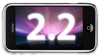 Det ser ut som iPhone-brukere får 2.2-oppdateringen tidligere enn forventet.