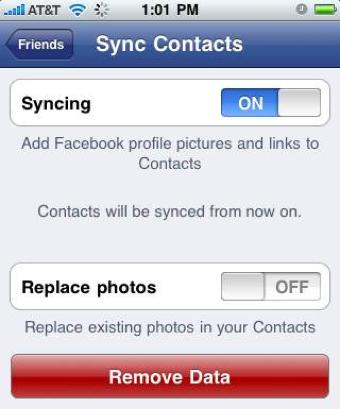 facebook-sync