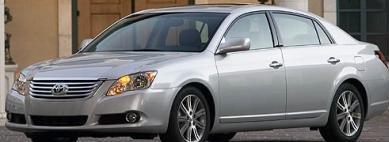 Toyota Avalon (selges ikke her hjemme) er en av bilene som omfattes av brems/gass-problemet som har tatt livet av 52 bilførere. Men data om hendelsene har så langt vært vanskelig å få ut.