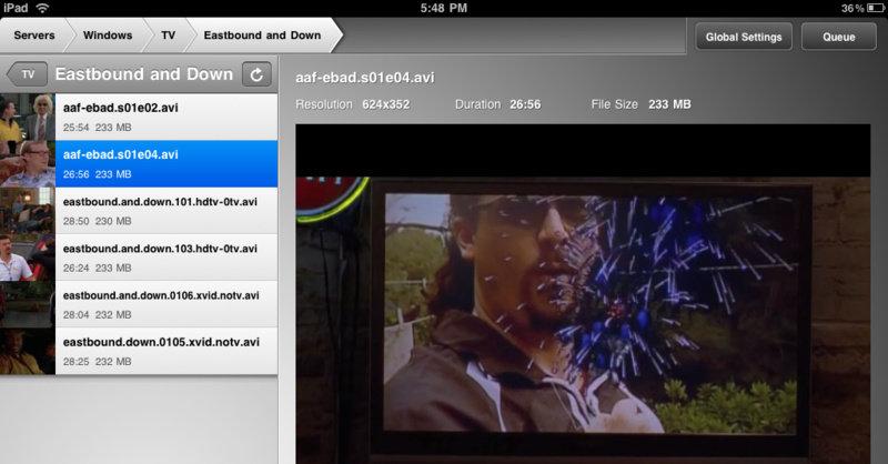 Air Video har et enkelt og rent brukergrensesnitt i kjent Apple-tradisjon.