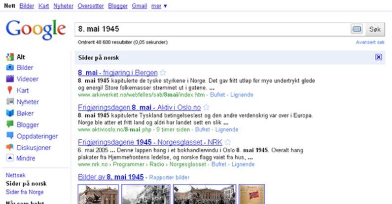Slik er nye Google.