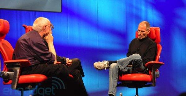 Walt Mossberg og Steve Jobs snakket om mange interessante temaer på årets All Things D.