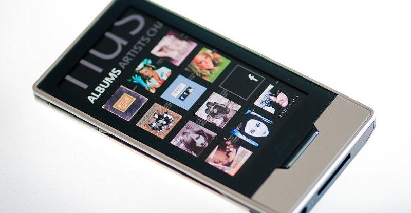 Zune HD, lansert september 2009.