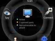 Hacker-appen gir deg rask oversikt over hvilke maskiner som er sårbare. Så kan du velge å spionere eller å trenge inn i systemet - alt sammen via mobilen.