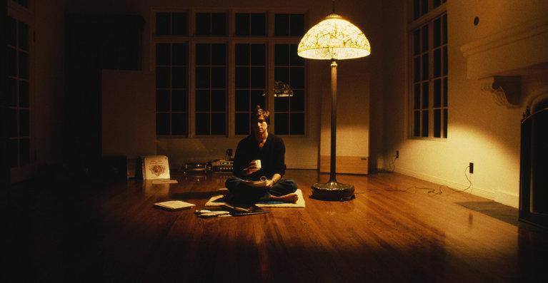 Steve Jobs i 1982, den gang 27 år, i huset sitt i Woodside California.