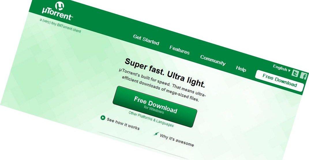 µTorrent-klienten ble i går ettermiddag norsk tid erstattet med en lure-program.