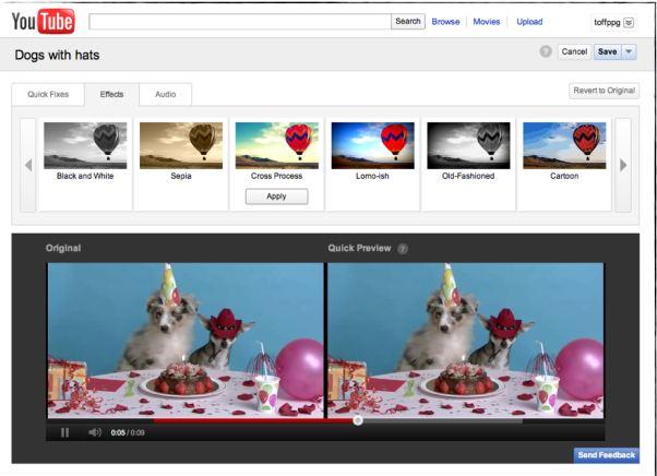 Ikke fornøyd med videoen du har lagt ut på YouTube? Nå kan du fikse den rett på nettet.